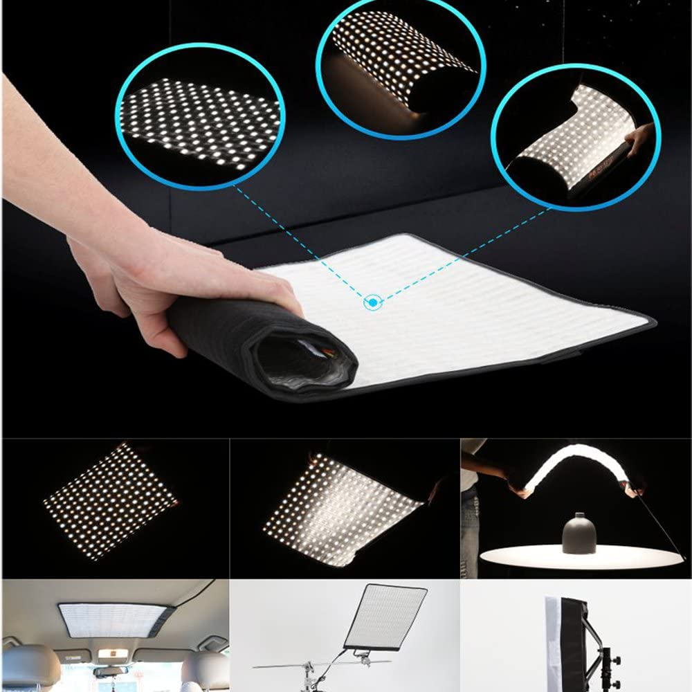 RX-18TD Bi-Color Dimmable 3000K-5600K 100W with Softbox Diffuser Portable Flexible LED Photo Light RX-18TD with Diffuser Falcon Eyes Bi-Color New Packaging