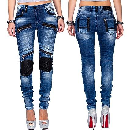 CIPO & BAXX Damen Jeans CBW 347 W33 L32 Jeanshose Hose Röhre