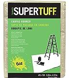 Trimaco SuperTuff 6 oz thick Utility Weight Canvas Drop Cloth, 4-feet x 15-feet