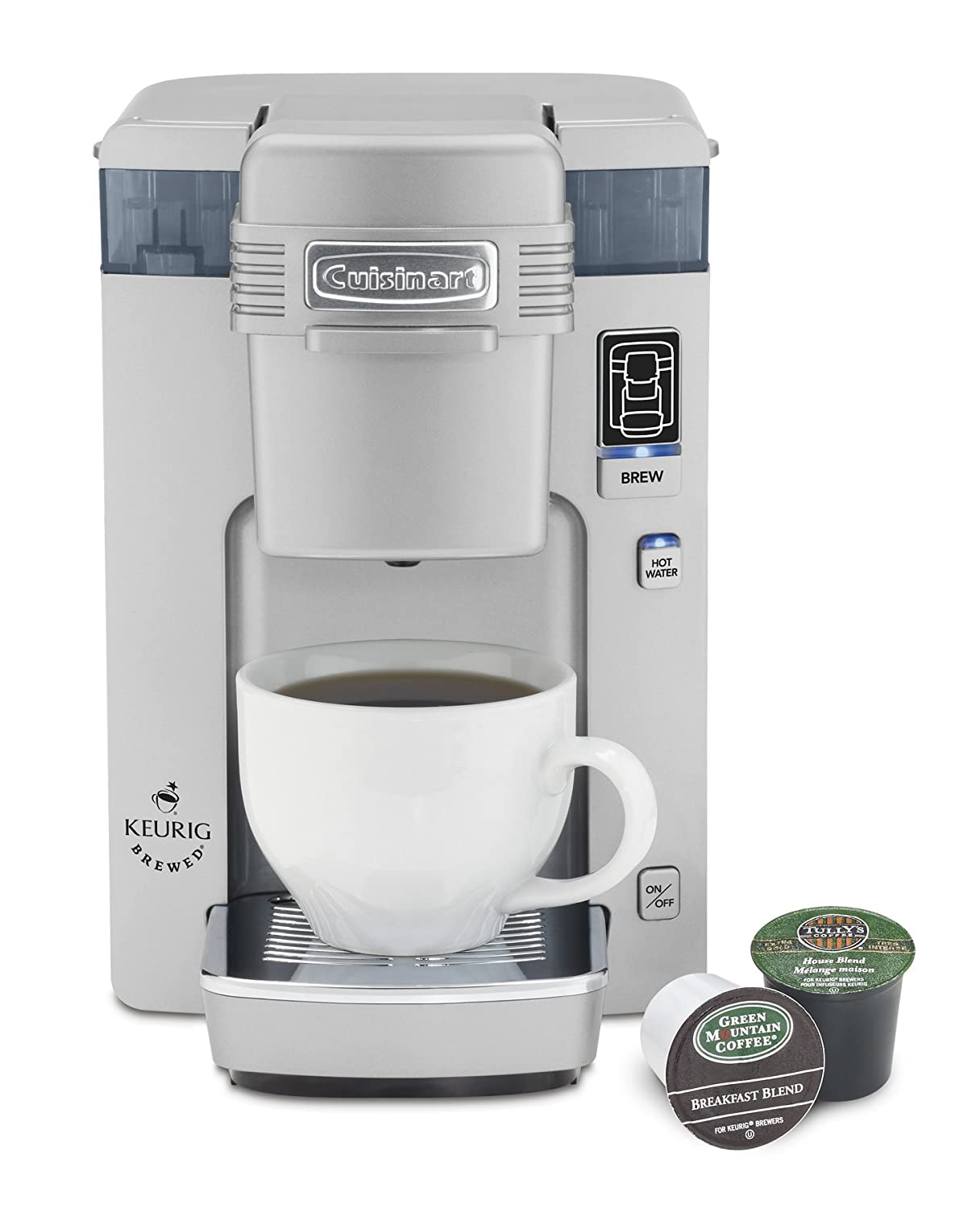 Amazon Cuisinart SS 300 Single Serve Brewing System Silver