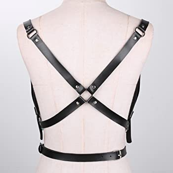YIZYIF Arnés de Pecho Mujer Lingerie Harness Leather Cinturones de ...