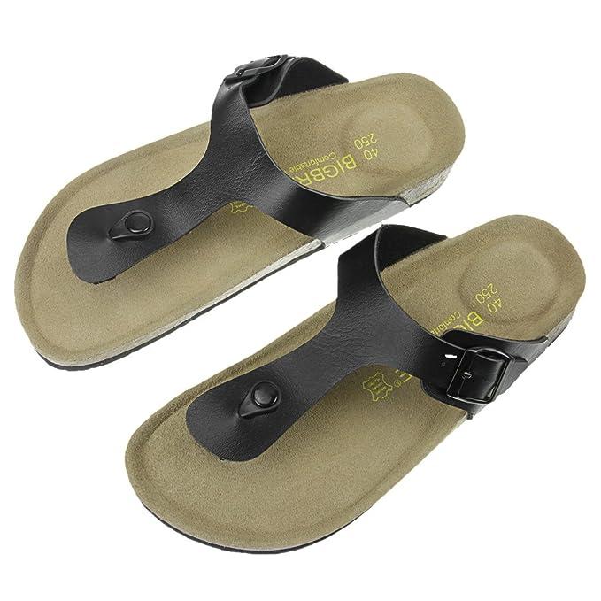 Chanclas Unisex, Sandalias Planas de poliuretano, Pantuflas de verano, de moda, sandalias para hombres y mujeres, Zapatos confortables, calzado de baño, ...