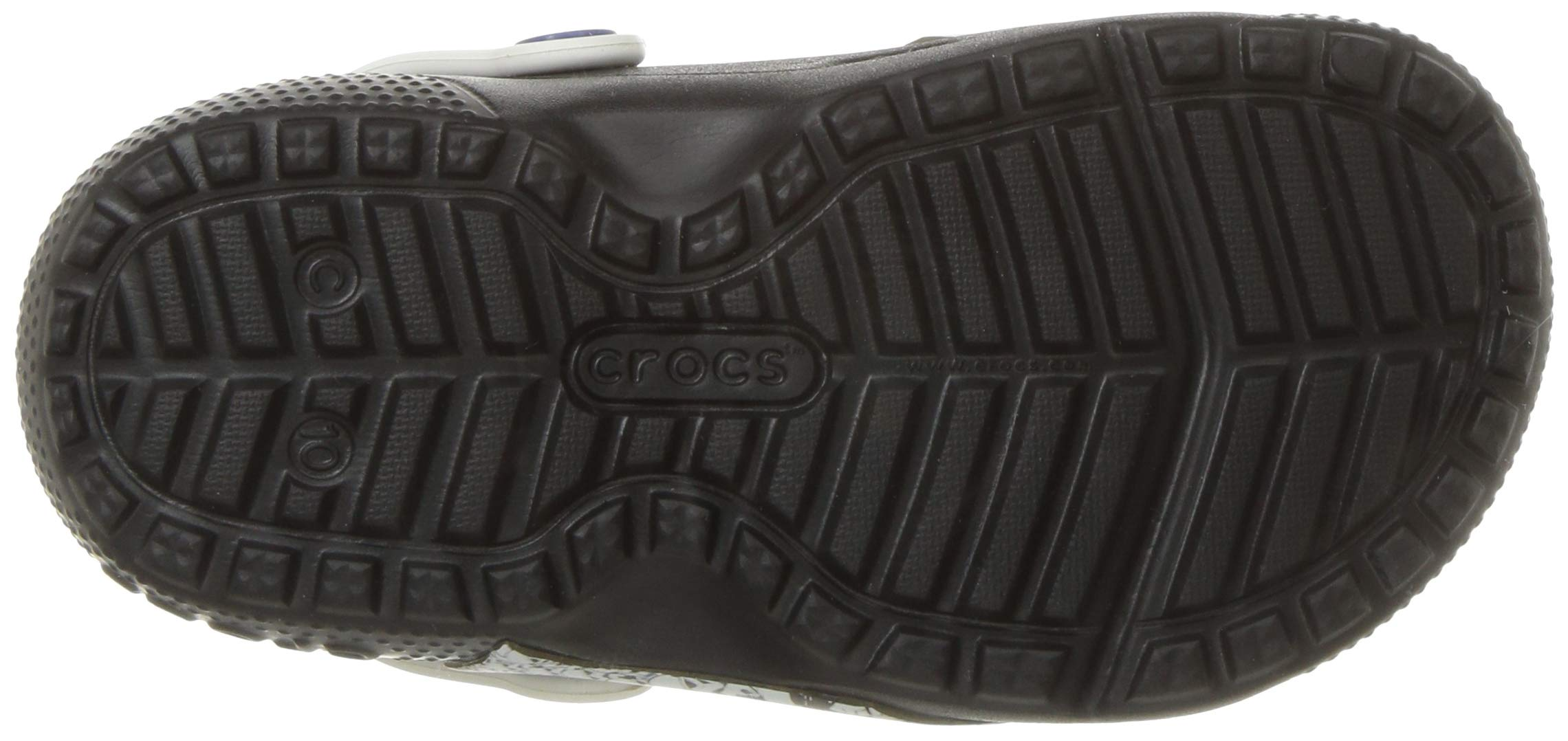 Crocs Unisex FunLab Lined Stormtrooper Clog, Black, 13 M US Little Kid by Crocs (Image #3)