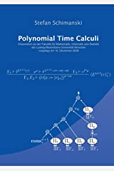 Polynomial Time Calculi Paperback