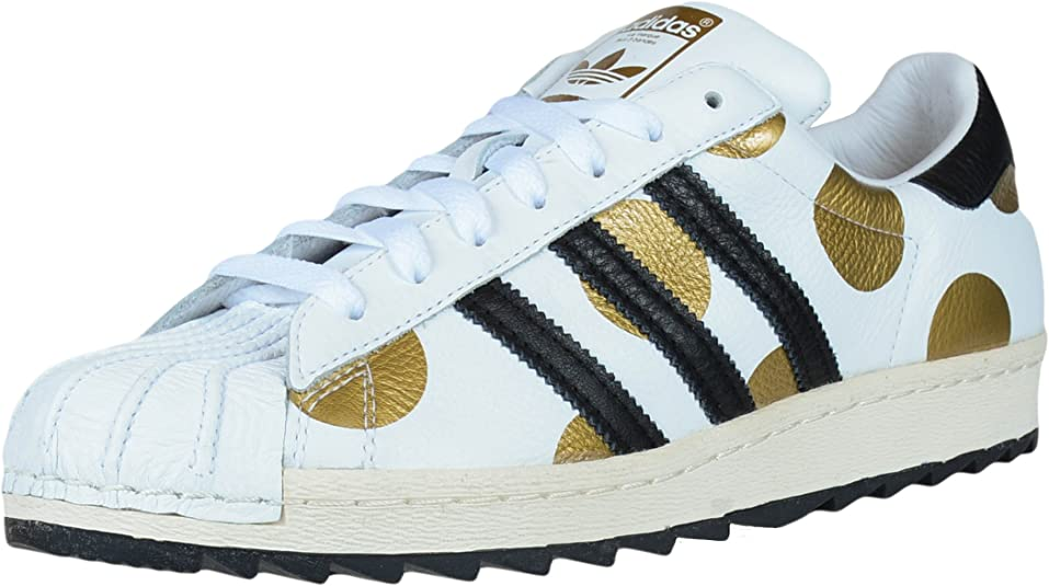 adidas black and white spotted shoes