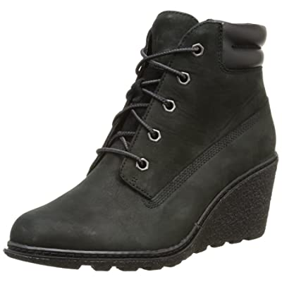 """Timberland Women's Earthkeepers Amston 6"""" Boot, Black, 8 B(M) US 