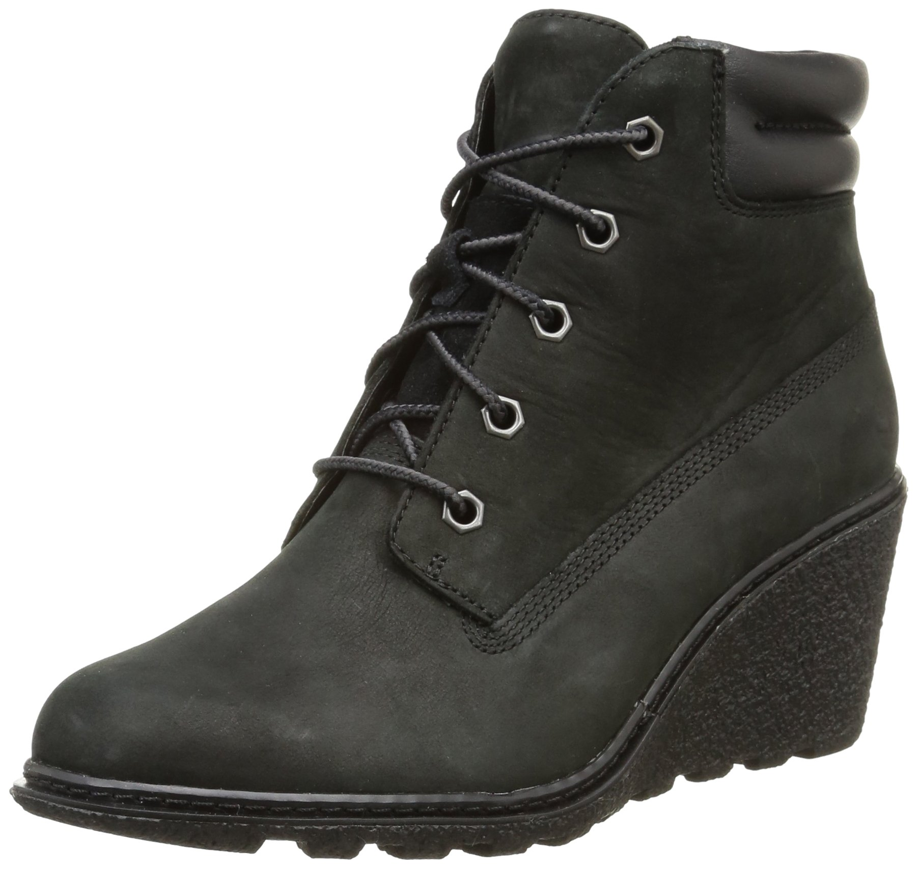 Timberland Women's Earthkeepers Amston 6'' Boot,Black,6 B(M) US