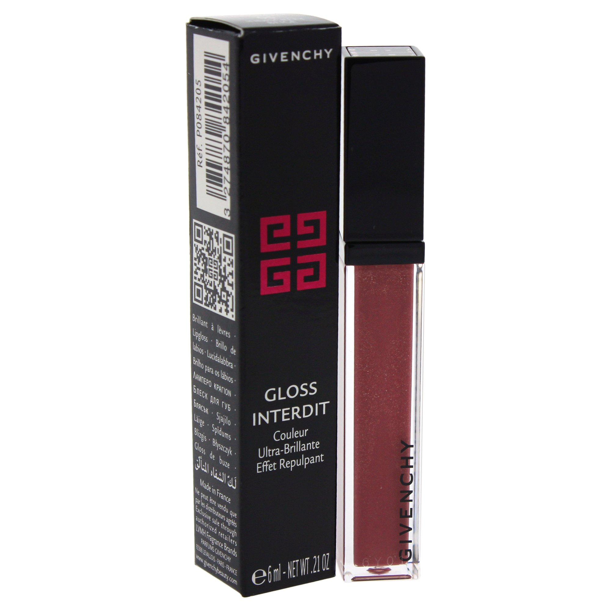Givenchy Gloss interdit - # 05 indiscreet beige by givenchy for women - lip gloss, 0.21 Ounce