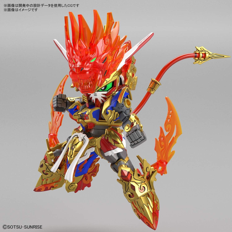 SD Gundam World Heroes Bandai Spirits Hobby SDW Heroes #01 Wukong Impulse Gundam Bandai Hobby SDW Heroes