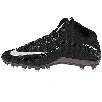Amazon.com   Nike Men's Alpha Pro 2 TD Sport Football Cleats, Black    Football
