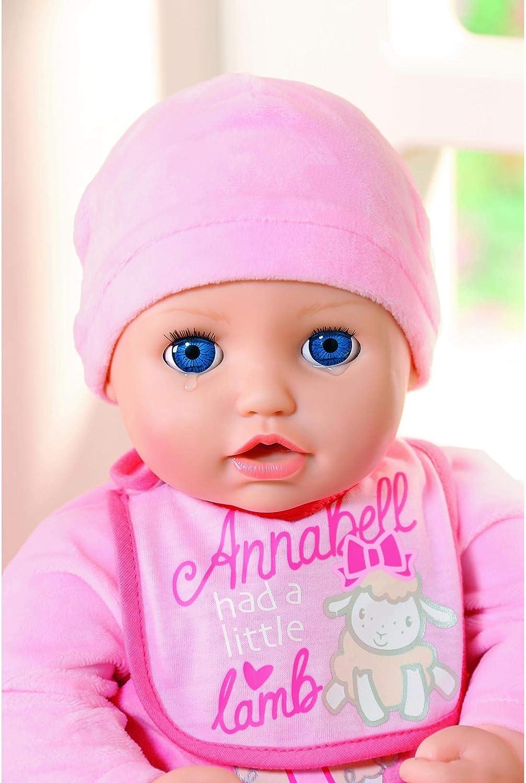Baby ANNABELL BAMBOLA INTERATTIVA 43Cm Dolly Gioco Natale Regalo Ragazze Giocattolo Set Nuovo di Zecca