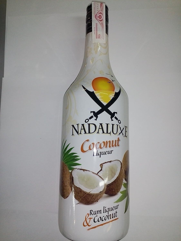 Nadalux Coconut Liqueur Rum Licor 1 Litro: Amazon.es ...