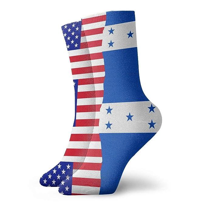 Adult Vietnam USA Flag Cushion Ankle Socks