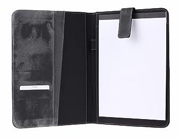 Konferenzmappe A5 Schreibmappe aus Nylon//PU Material f/ür Notizen