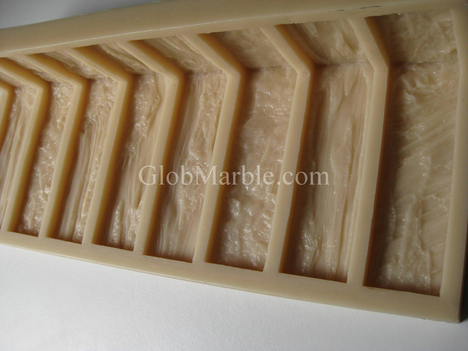 Antique Wood Stone Mold BS 811/4 Corner by GlobMarble
