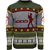 Official Star Wars Boba Fett Nordic Christmas Jumper/Ugly Sweater