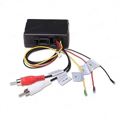 XTRONS Optical Fiber Head Unit Replacement Decoder for Mercedes-Benz ML/GL/R Series: Car Electronics [5Bkhe2013859]