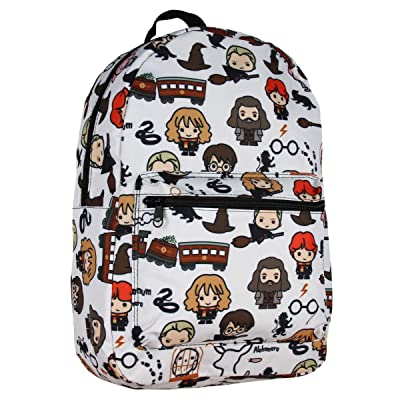 Harry Potter Laptop Backpack Chibi Characters Art Sublimated School Bag | Kids' Backpacks