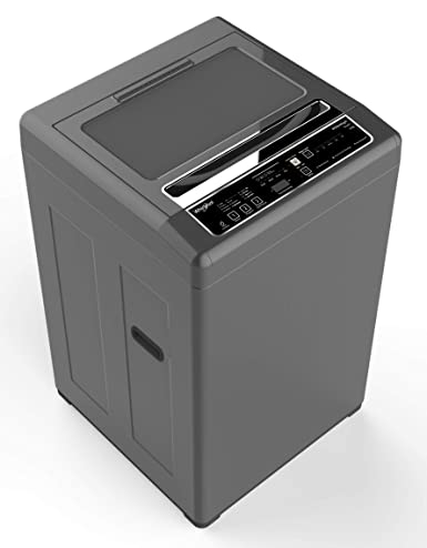 Whirlpool 6 5 kg Fully-Automatic Top Loading Washing Machine (WM ROYAL 6 5  2YMW, Shiny Grey)