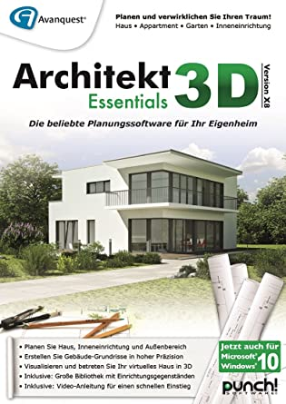 Architekt 3D X8 Essentials [PC Download]: Amazon.de: Software