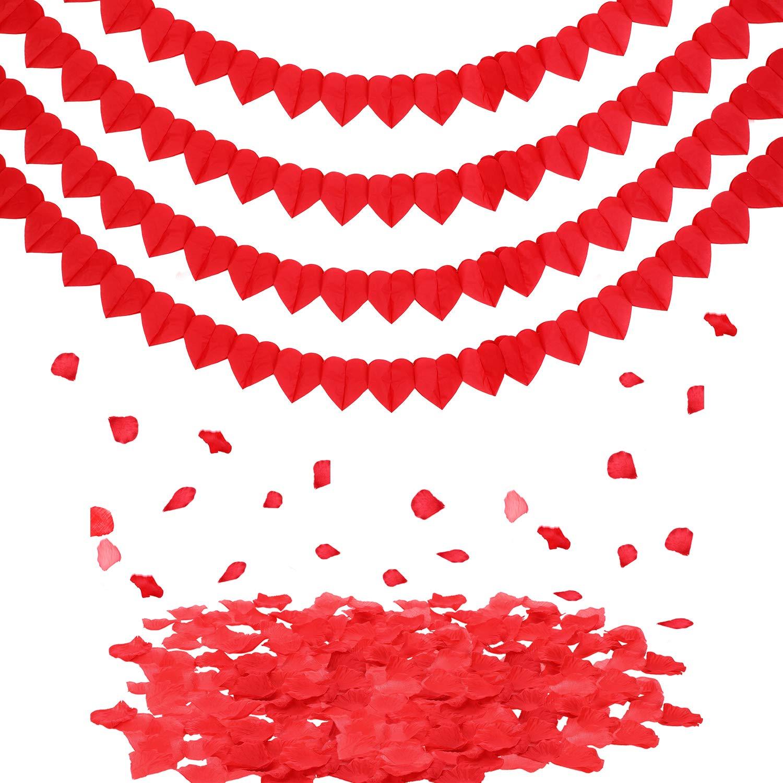 guirnalda san valentín