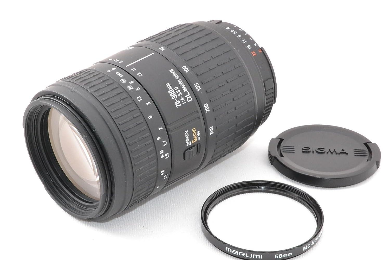 春夏新作モデル SIGMA シグマ 70-300mm シグマ F4-5.6D DL 70-300mm MACRO F4-5.6D SUPER for NIKON B06Y1FHWKH, フラワーショップBlue candle:bf54bd24 --- arianechie.dominiotemporario.com