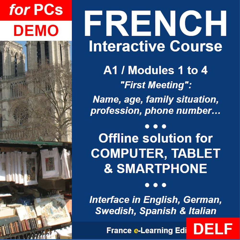 Amazon com: Learn French: Interactive Course - A1 (Beginner