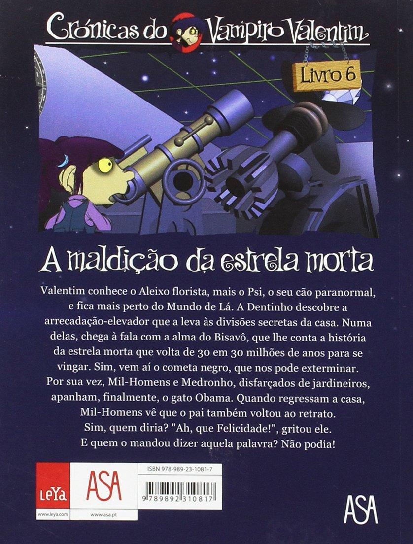 A Maldição da Estrela Morta Livro 6 (Portuguese Edition): Álvaro Magalhães Carlos J. Campos : 9789892310817: Amazon.com: Books