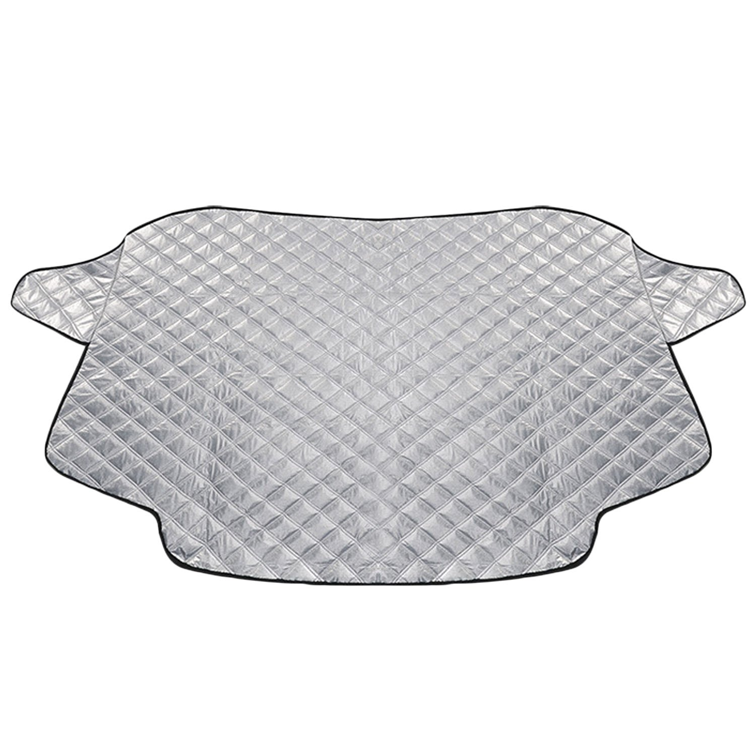Snow Windshield Cover Aluminum Cotton Thickened Car Windshield Snow Cover Protector Ice Frost Guard Car Windshield Sunshade 100 x 147cm® Elisona
