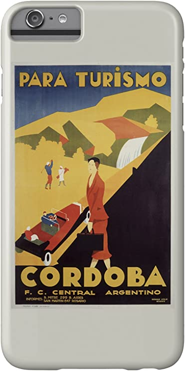 Cordoba Vintage Poster (artist: Gerente) Argentina c. 1935 (iPhone ...