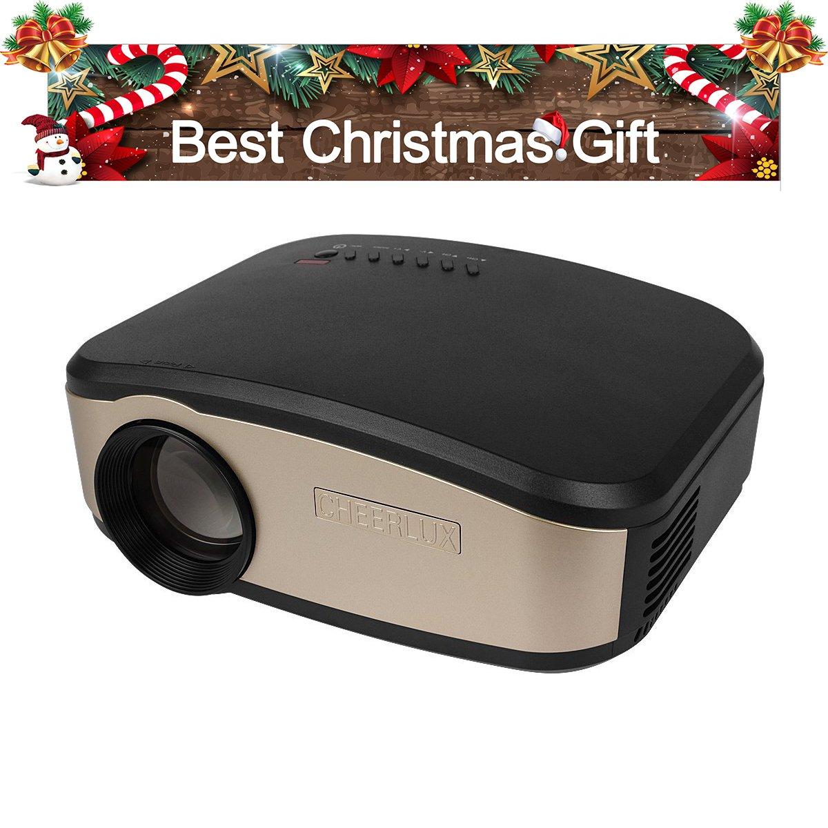 FastFox Wireless Video Proyector Projector 1000 Lumen 800x480 ...