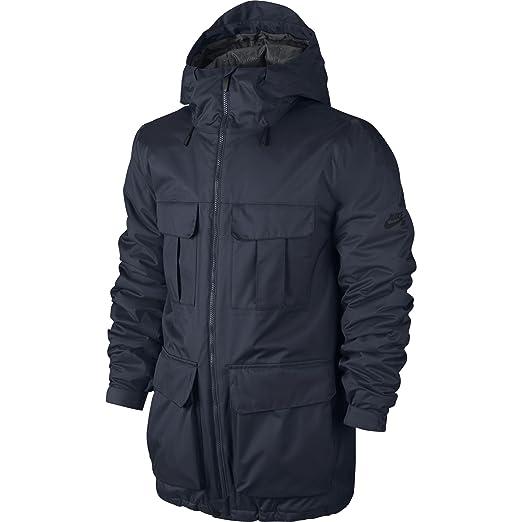Amazon Com Nike Sb Empire Men S Winter Jacket Medium Obsidian