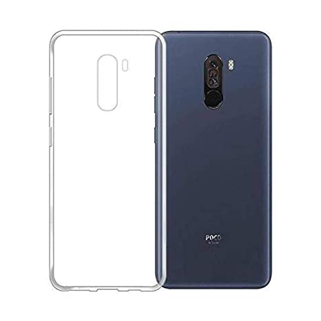 newest 06f09 01ce2 Caseogram Xiaomi Poco F1 Transparent Back Cover: Amazon.in: Electronics