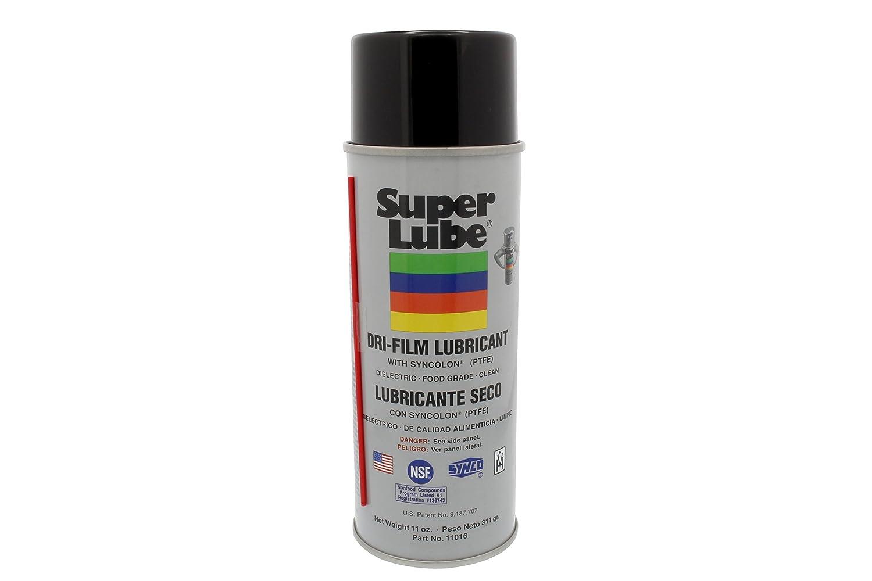 Super Lube® Aerosol 11 oz. Dri-Film con Syncolon® (PTFE): Amazon.es: Amazon.es