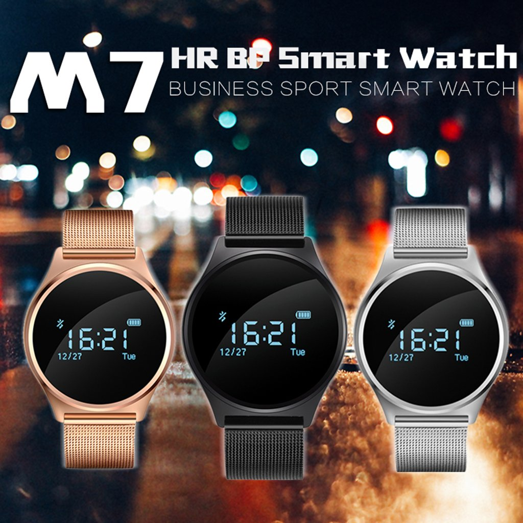 MagiDeal SmartWatch Impermeable Sport Track M7 Bluetooth para iOS ...