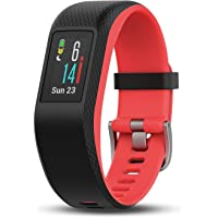Garmin vívosport Smart Activity Tracker - Rastreador de Actividad, Color Fucsia, S/M (renovado)