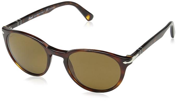 d44a4b003c8 Persol Men s PO3152S Sunglasses Havana Polar Brown 52mm at Amazon ...