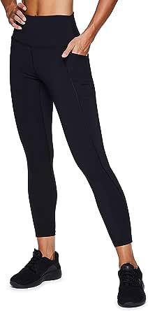 RBX Active Women's Plus Size Cotton Workout Gym Yoga Leggings