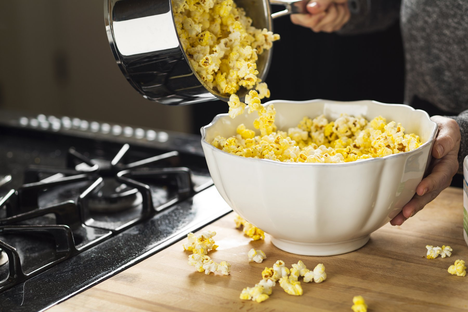 Franklin's Organic Popping Corn (7 lbs). Make Movie Theater Popcorn at Home. by Franklin's Gourmet Popcorn (Image #7)