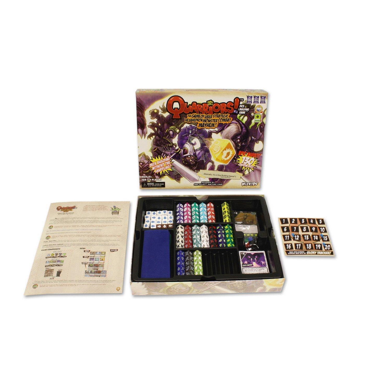 WizKids Quarriors Dice Building Game -Box Version