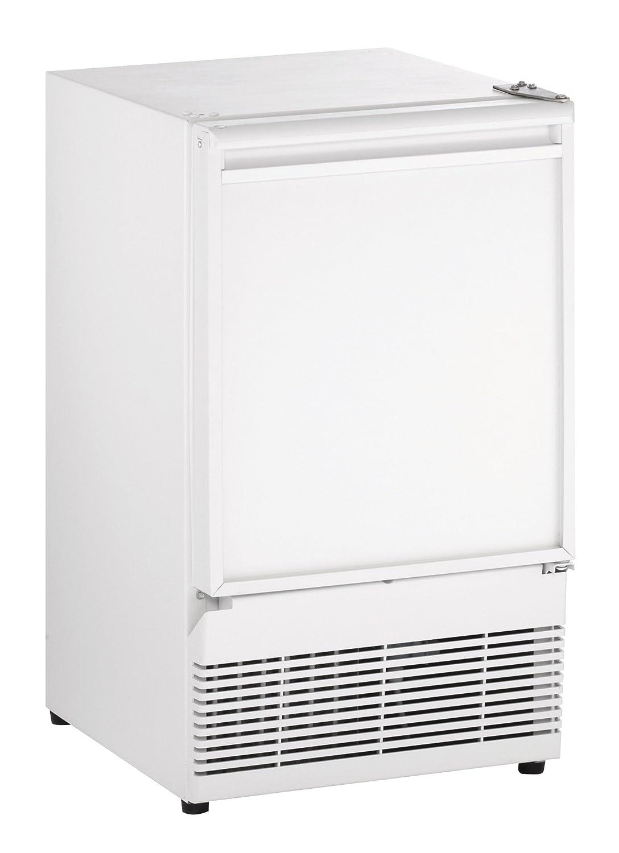 U-Line UBI98W00A Undercounter Crescent Ice Maker, 15', White 15 Plesser' s Appliance - Dropship