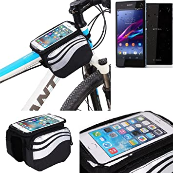 K-S-Trade Bolso Funda Bicicleta para Sony Xperia Z1 Compact ...