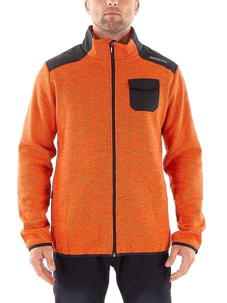 Brunotti - Chaqueta - para hombre naranja L: Amazon.es: Ropa y accesorios