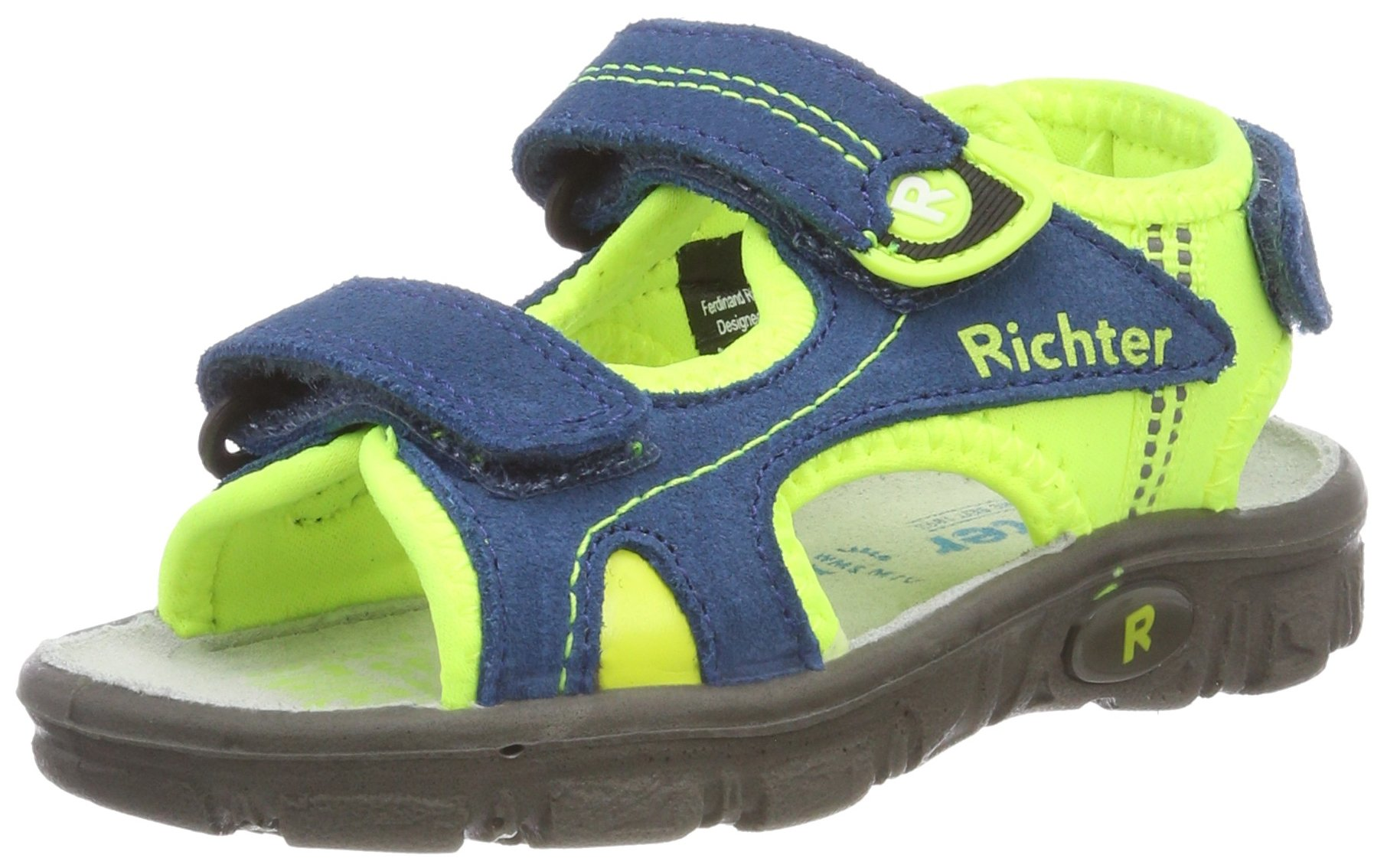 Richter Kinderschuhe Boys 8104-341 Athletic Sandals Blue Size: 13 UK