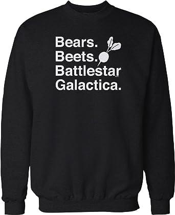 Amazoncom Nofo Clothing Co Bears Beets Battlestar Galactica Crew