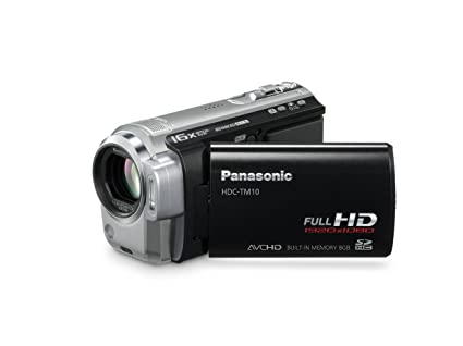 amazon com panasonic hdc tm10k hard drive full hd camcorder black rh amazon com JVC HD Camera Samsung HD Camcorder