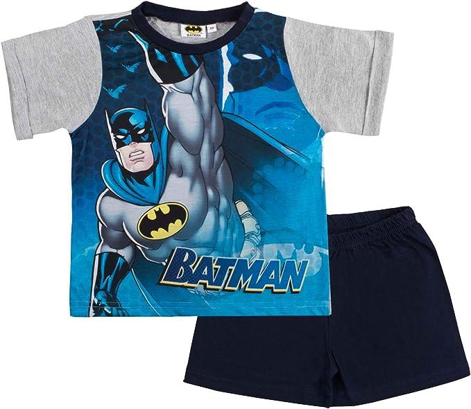 Lora Dora Batman - Pijama corto de superhéroe para niños Azul ...