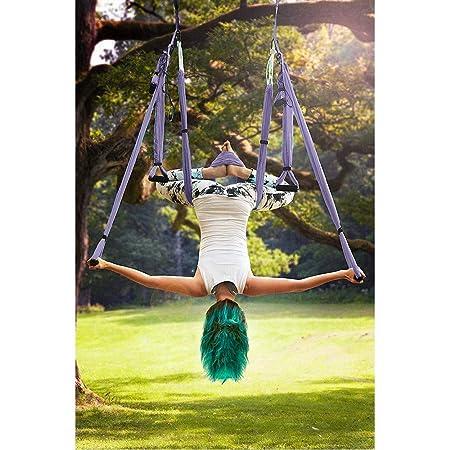 MQSS - Juego de Columpio para Yoga con 2 Correas de ...