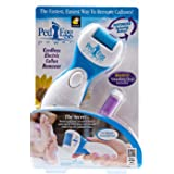 PedEgg Power Perfect Pedicure Electronic Foot File / Foot Smoother by MaxelNova®