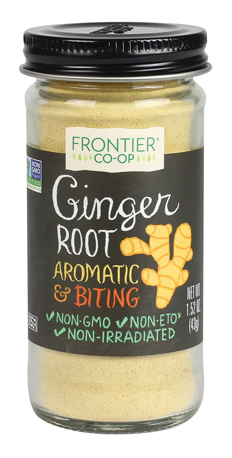 Frontier Ginger Root Ground, 1.52-Ounce Bottle